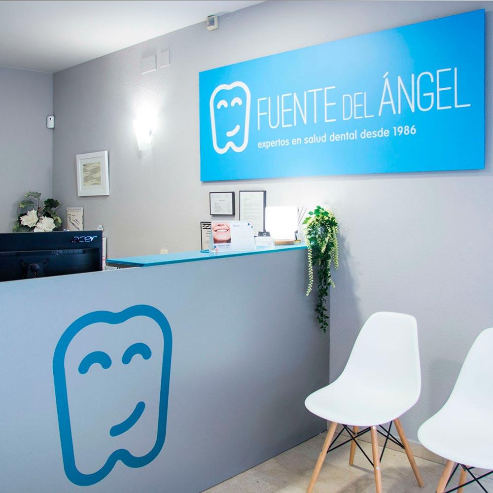 Entrada CLínica dental en Huesca