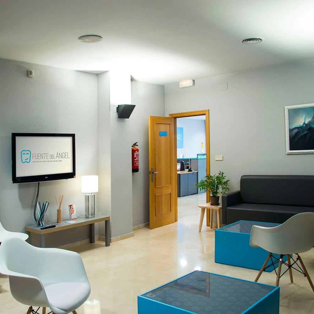 Sala de espera Clínica Dental en Huesca