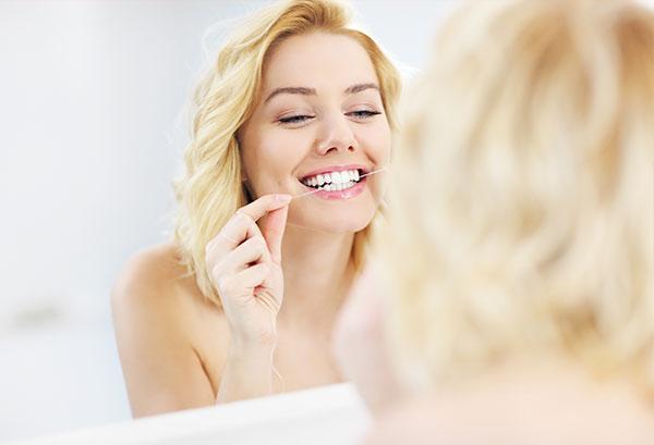 Higiene dental, limpieza