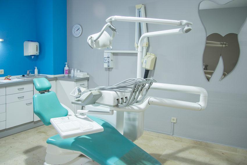 Sillón de clínica dental