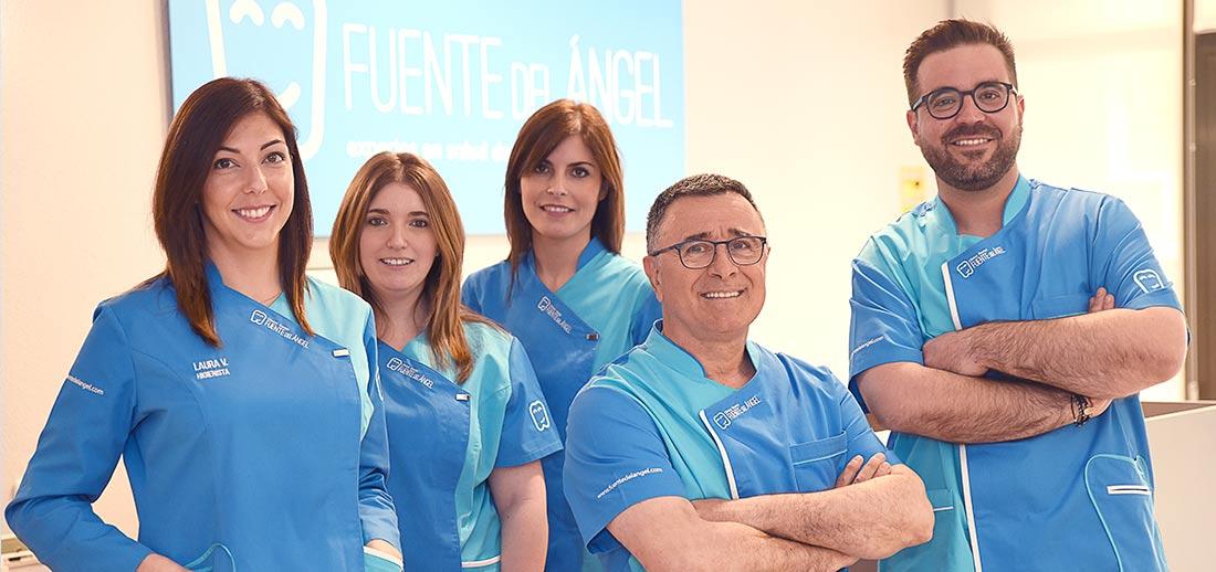 Equipo de dentistas en Huesca